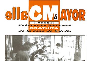 CALLE MAYOR 004 - LA FERIA DEL LIBRO EN ESTELLA