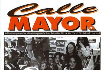 CALLE MAYOR 071 - ÉXITO DE PÚBLICO EN EL GRAN PREMIO NAVARRA DE CICLISMO
