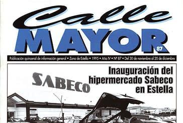 CALLE MAYOR 087 - INAUGURACIÓN DEL HIPERMERCADO SABECO EN ESTELLA
