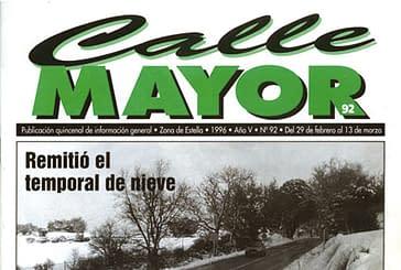 CALLE MAYOR 092 - REMITIÓ EL TEMPORAL DE NIEVE