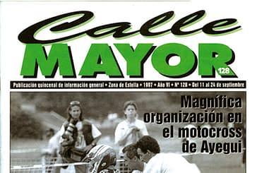 CALLE MAYOR 128 - MAGNÍFICA ORGANIZACIÓN EN EL MOTOCROSS DE AYEGUI