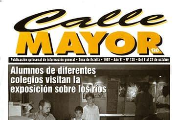 CALLE MAYOR 130 - ALUMNOS DE DIFERENTES COLEGIOS VISITAN LA EXPOSICIÓN SOBRE LOS RÍOS