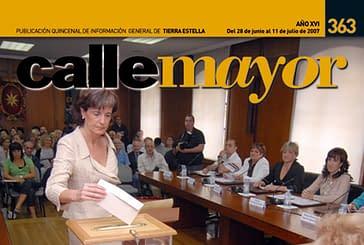 CALLE MAYOR 363 - CAMBIO DE GOBIERNO EN EL AYUNTAMIENTO DE ESTELLA