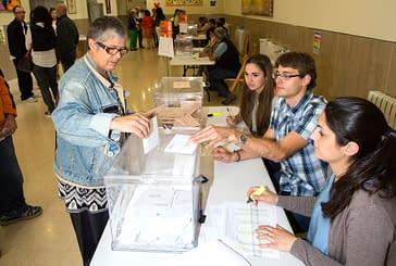 Participación del 68'3% en las elecciones generales en Estella