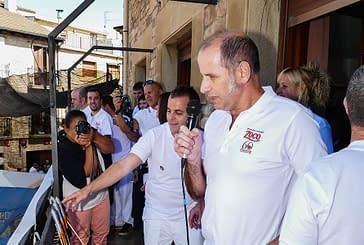 Dicastillo brinda con pacharán en el inicio de las fiestas