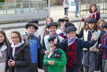 Cantos a Santa Águeda como avance del Carnaval