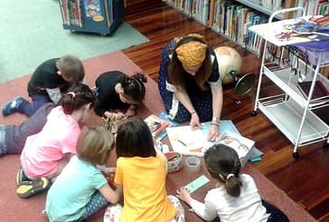 Actividades en la biblioteca con motivo del Día del Libro