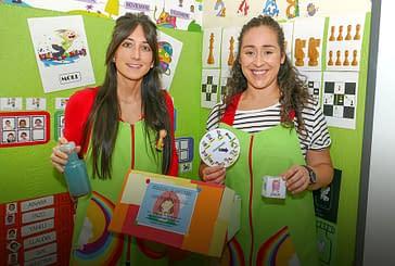 PRIMER PLANO - Alba Alonso y Adriana Goñi - Profesoras del colegio Santa Ana