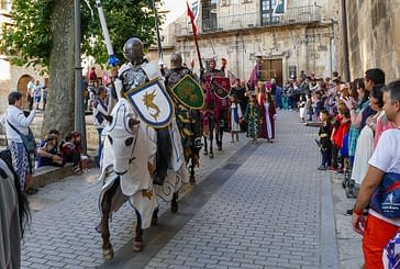 La Semana Medieval se llevó a vecinos y visitantes 'de calle'