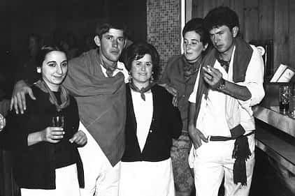 09. Tere Torrano, Joaquín Jordana, Isabel Jordana, Nieves Errazquin y Miguel Ángel Aguirre.