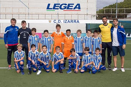 Club Deportivo Izarra. Alevín B