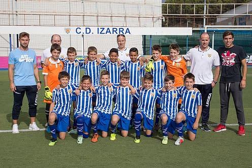Club Deportivo Izarra. Alevín A