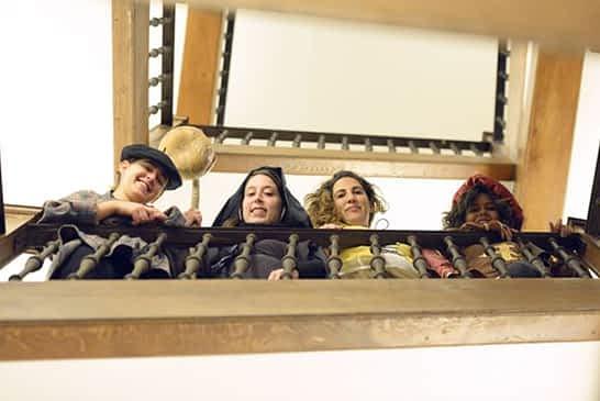 TRÉBOLE - Actividades Culturales - UNA SALIDA... AL'ESCENARIO'
