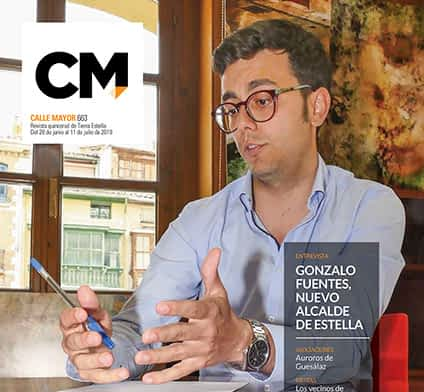 CALLE MAYOR 663 - GONZALO FUENTES, NUEVO ALCALDE DE ESTELLA