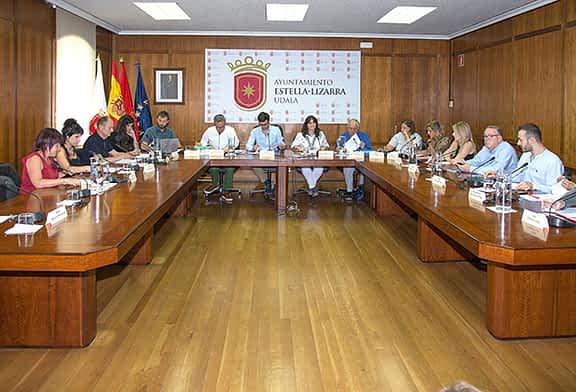 El Ayuntamiento de Estella comienza a trabajar por áreas municipales
