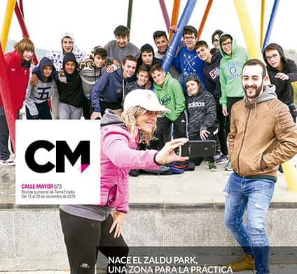 CALLE MAYOR 673 - NACE EL ZALDU PARK, UNA ZONA PARA LA PRÁCTICA DE CALISTENIA Y PARKOUR