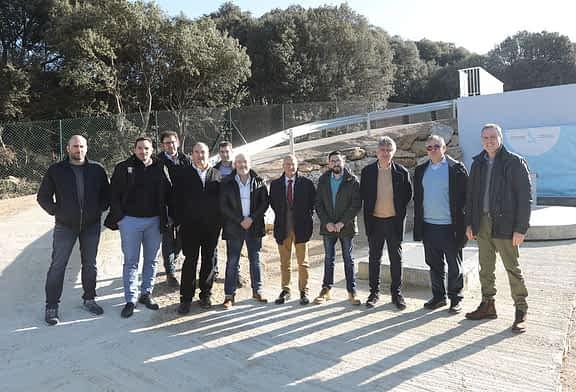 Igúzquiza inaugura depuradora para dar servicio a sus 200 habitantes