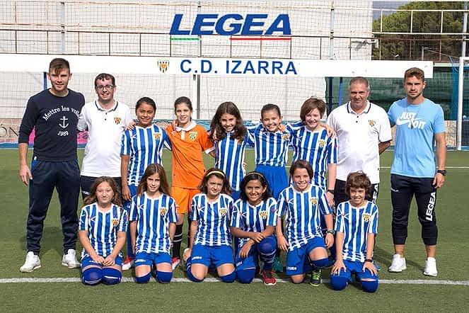 Club Deportivo Izarra. F8 Femenino Alevín