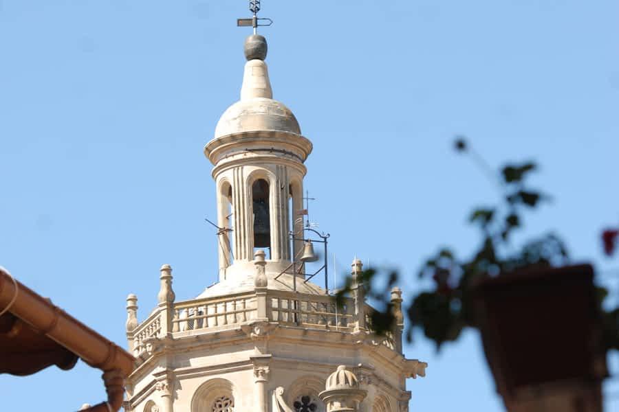 Torre de la Iglesia de Santa María de los Arcos