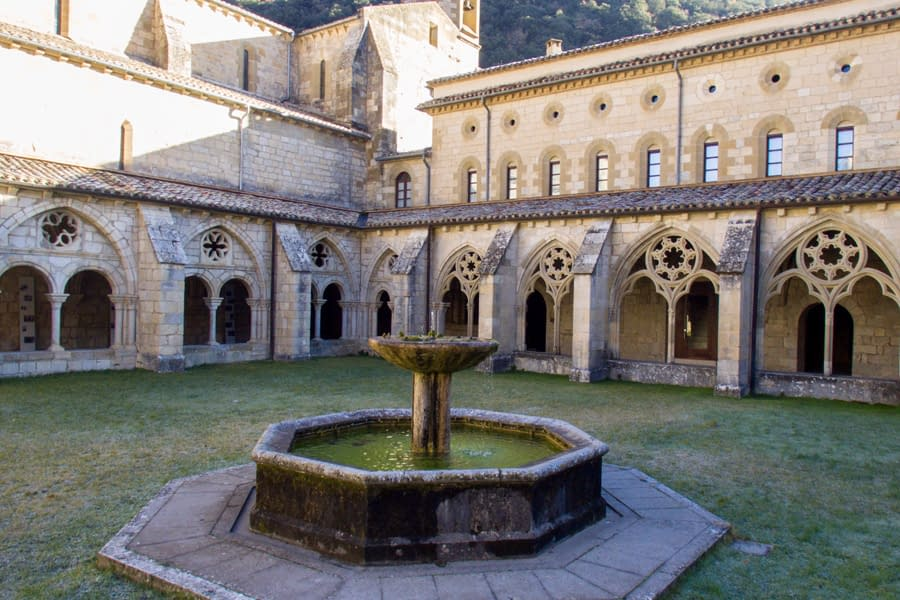 Claustro del Monasterio de Iranzu