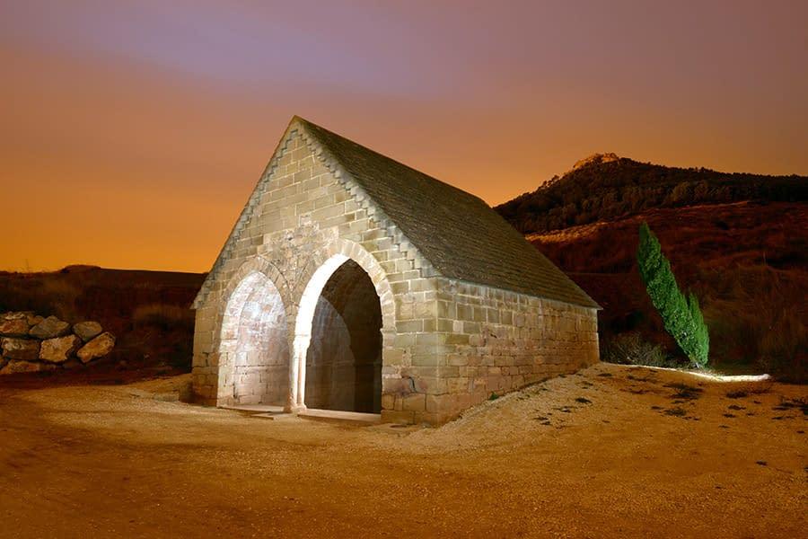 Fuente de los Moros, Villamayor de Monjardín