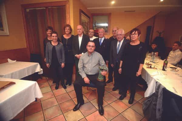 Alfonso Canela dedicó el Estellés del Año al club Izarra