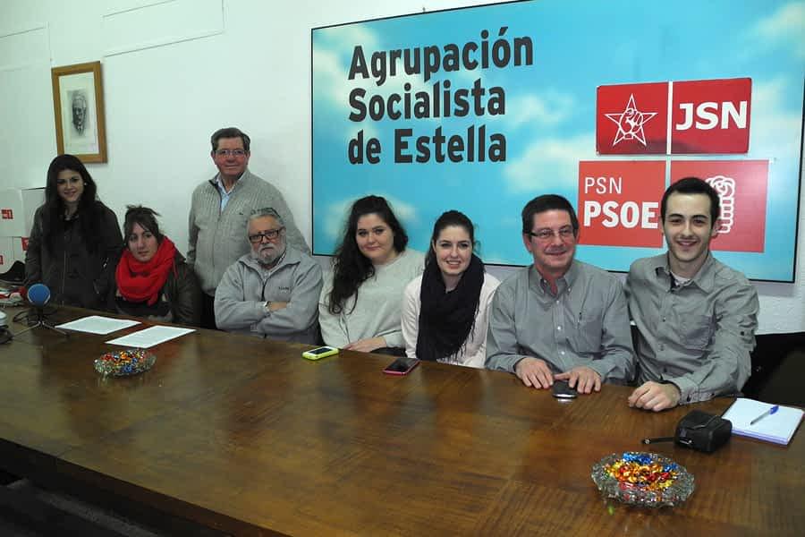 El PSN de Estella recogió 427 aportaciones a su programa electoral