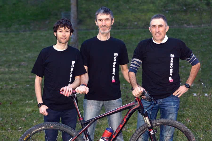 Un reto, 'formato Dakar', en bicicleta