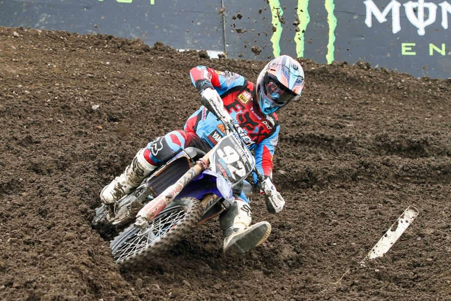 Valentín pierde un puesto en la quinta prueba del Campeonato de Europa de Motocross en Alemania