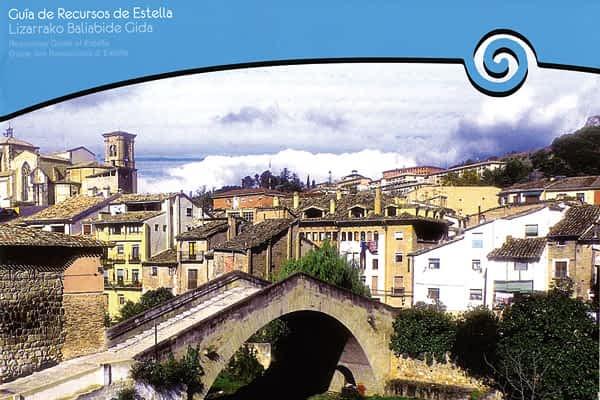 Una guía recoge la totalidad de los servicios generales de Estella