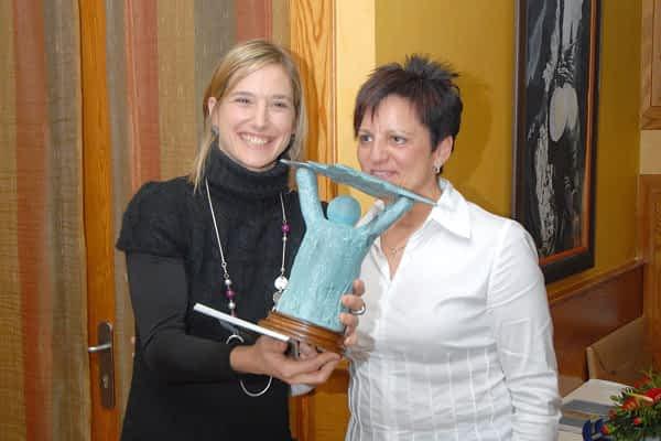 Andrea Barnó recogió el XVIII premio Estellés del Año
