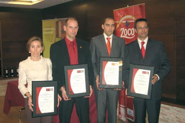 El centro de Pernod Ricard en Dicastillo recibió la cuádruple certificación