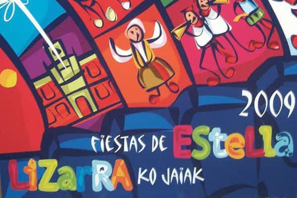 Un cartel colorista y con estética de cómic anuncia las fiestas