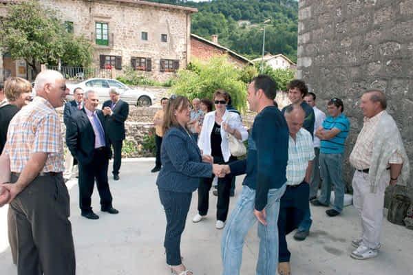 Larraona, Aranarache y Eulate realizan mejoras en sus infraestructuras