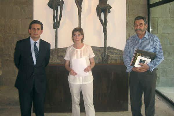La escultura religiosa de Venancio Blanco, en el Gustavo de Maeztu