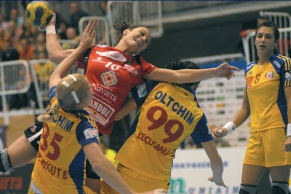 Derrota de Itxako Reyno de Navarra en Champions