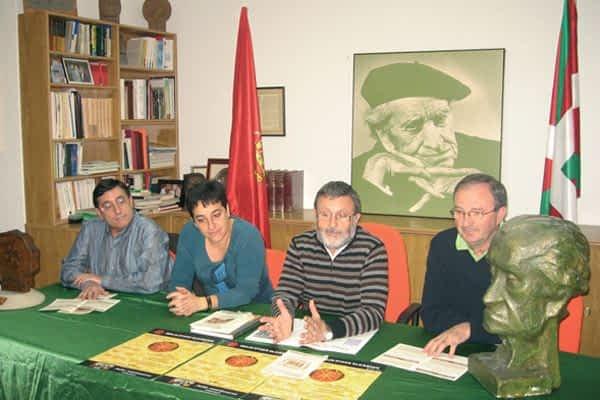 Irujo Etxea dedica sus Noviembres Culturales a Pablo Antoñana