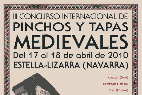 Se presenta en Fitur el III Concurso de Pinchos y Tapas Medievales