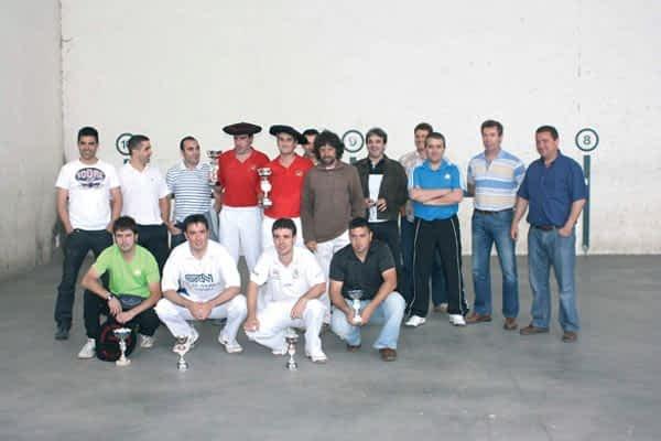 Finales del  Campeonato  de Paleta Goma  de Arellano