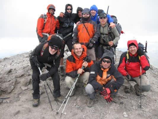 Un grupo de 28 montañeros realizó una travesía por Ordesa