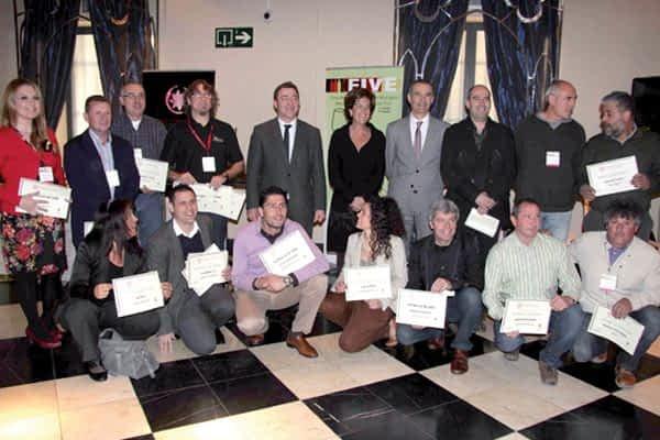Aroa se lleva dos oros en el concurso nacional de vinos ecológicos  de Estella-Lizarra