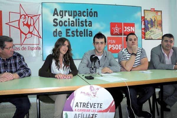 Nace la Agrupación Juvenil Socialista de Estella-Lizarra