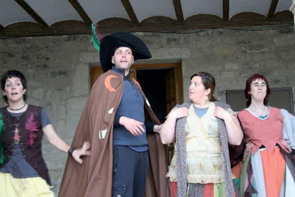 'Garañargo', de Bargota, prepara su participación en la Semana de la Brujería
