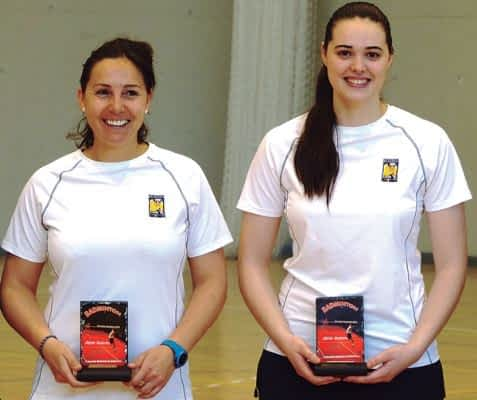 Dos platas para Estella en el Máster Nacional de Bádminton