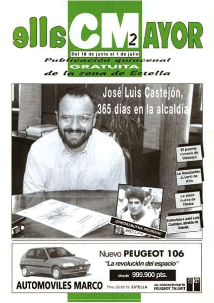CALLE MAYOR 002 – JOSÉ LUÍS CASTEJÓN, 365 DÍAS EN LA ALCALDÍA