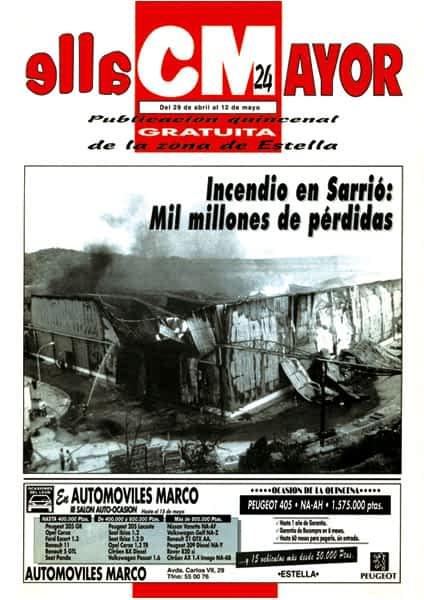CALLE MAYOR 024 – INCENDIO EN SARRIÓ: MIL MILLONES DE PÉRDIDAS