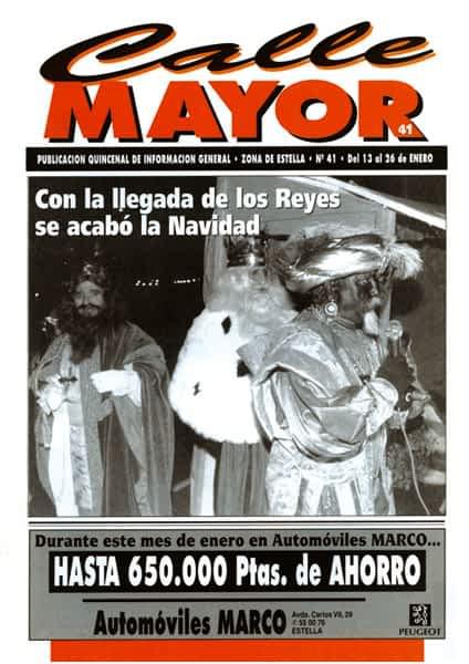 CALLE MAYOR 041 – CON LA LLEGADA DE LOS REYES SE ACABÓ LA NAVIDAD