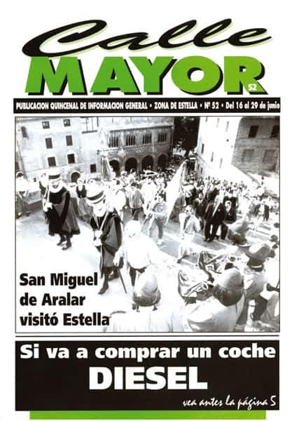 CALLE MAYOR 052 – SAN MIGUEL DE ARALAR VISITÓ ESTELLA