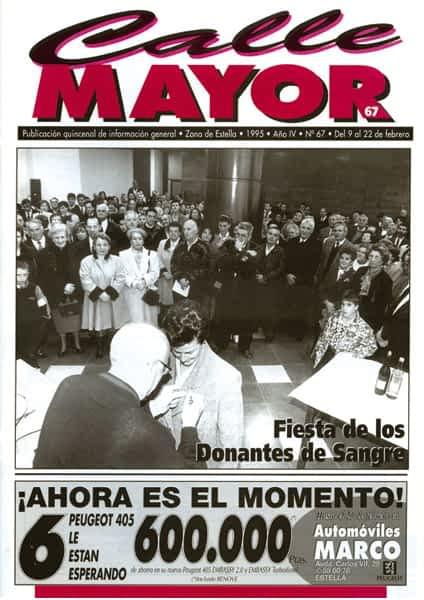 CALLE MAYOR 067 – FIESTA DE LOS DONANTES DE SANGRE