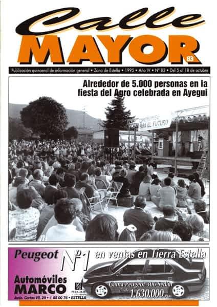 CALLE MAYOR 083 – ALREDEDOR DE 5.000 PERSONAS EN LA FIESTA DEL AGRO CELEBRADA EN AYEGUI